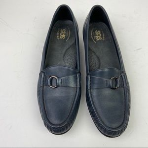 SAS Loafers Sz 9  Navy Blue
